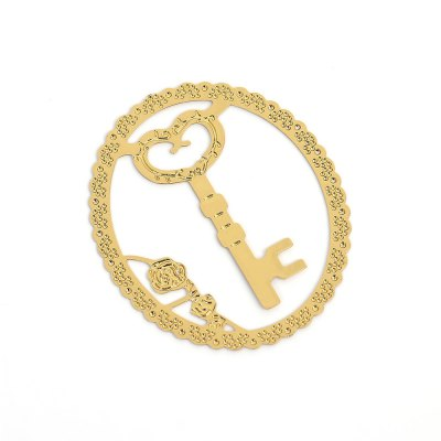 Hollow Out Metal BookmarkStamps &amp; Bookmarks<br>Hollow Out Metal Bookmark<br><br>Product weight: 0.003 kg<br>Package weight: 0.024 kg<br>Product size (L x W x H): 9.80 x 7.00 x 0.10 cm / 3.86 x 2.76 x 0.04 inches<br>Package size (L x W x H): 10.80 x 8.00 x 1.10 cm / 4.25 x 3.15 x 0.43 inches<br>Package Contents: 1 x Metal Bookmark