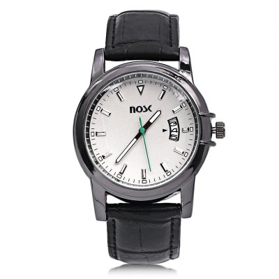 NOSK 8017 Male Quartz WatchMens Watches<br>NOSK 8017 Male Quartz Watch<br><br>Band Length: 8.27 inch<br>Band Material Type: Leather<br>Band Width: 20mm<br>Case material: Alloy<br>Case Shape: Round<br>Clasp type: Pin Buckle<br>Dial Diameter: 1.57 inch<br>Dial Display: Analog<br>Dial Window Material Type: Glass<br>Feature: Luminous, Date<br>Gender: Men<br>Movement: Quartz<br>Package Contents: 1 x Watch<br>Package Size(L x W x H): 24.00 x 6.00 x 2.00 cm / 9.45 x 2.36 x 0.79 inches<br>Package weight: 0.074 kg<br>Product Size(L x W x H): 25.50 x 4.50 x 1.50 cm / 10.04 x 1.77 x 0.59 inches<br>Product weight: 0.050 kg<br>Style: Business
