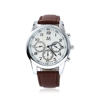 Zuimeier A135 Male Quartz WatchMens Watches<br>Zuimeier A135 Male Quartz Watch<br><br>Band Length: 7.09 inch<br>Band Material Type: Leather<br>Band Width: 20mm<br>Case material: Alloy<br>Case Shape: Round<br>Clasp type: Pin Buckle<br>Dial Diameter: 1.57 inch<br>Dial Display: Analog<br>Dial Window Material Type: Glass<br>Gender: Men<br>Movement: Quartz<br>Package Contents: 1 x Watch<br>Package Size(L x W x H): 25.50 x 5.50 x 2.00 cm / 10.04 x 2.17 x 0.79 inches<br>Package weight: 0.058 kg<br>Product Size(L x W x H): 24.50 x 4.50 x 1.00 cm / 9.65 x 1.77 x 0.39 inches<br>Product weight: 0.036 kg<br>Style: Business