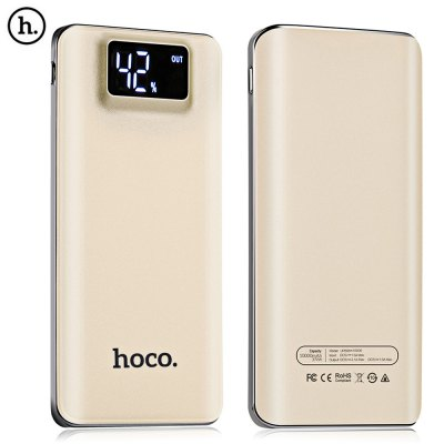 HOCO UPB05 10000mAh Power Bank LED Electric Torch