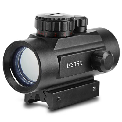 Red Green Dot Holographic Riflescope Sight 1 x 30RD