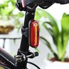 cheap Rechargeable Bicycle Dual Color Flashlight Tail Light