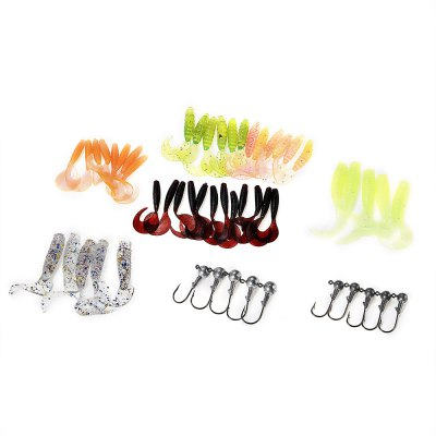 LEO Soft Fishing Lure Bait Set Fish Accessory Tackle