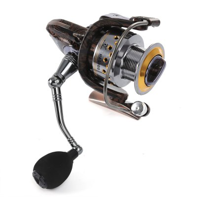 LIEYUWANG 13 + 1BB Floral Pattern Spinning Fishing Reel