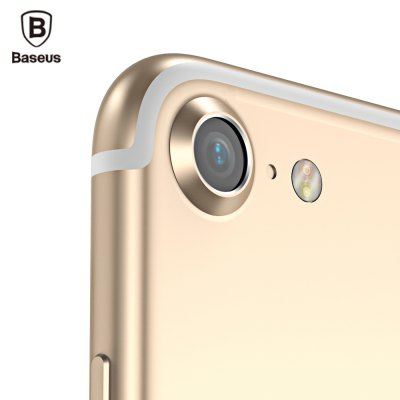 Baseus Paste Type Metal Lens Protection Ring Case for iPhone 7