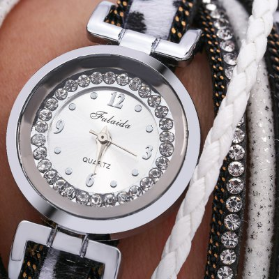 FULAIDA Fashion Women Quartz Bracelet WatchWomens Watches<br>FULAIDA Fashion Women Quartz Bracelet Watch<br><br>Band Length: 11.02 inch<br>Band Material Type: Leather<br>Band Width: 20mm<br>Case material: Alloy<br>Case Shape: Round<br>Dial Diameter: 0.88 inch<br>Dial Display: Analog<br>Dial Window Material Type: Glass<br>Gender: Women<br>Movement: Quartz<br>Package Contents: 1 x Watch<br>Package Size(L x W x H): 21.00 x 5.50 x 1.00 cm / 8.27 x 2.17 x 0.39 inches<br>Package weight: 0.065 kg<br>Product Size(L x W x H): 28.00 x 2.50 x 0.80 cm / 11.02 x 0.98 x 0.31 inches<br>Product weight: 0.043 kg<br>Style: Fashion &amp; Casual