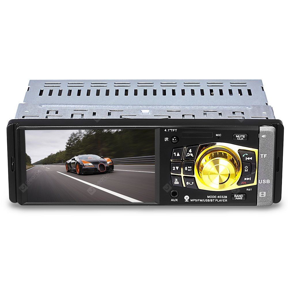 4032B 4.1 inch Vehicle-mounted MP5 Player with Camera