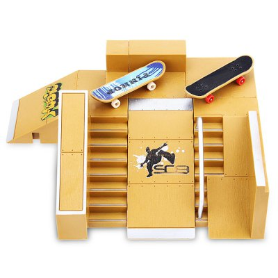 5pcs Skate Park Kit for Tech Deck Fingerboard