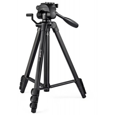 EARME Adjustable Panorama Tripod with Bubble Level