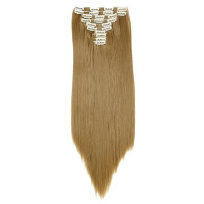 AISI HAIR Long Straight Synthetic HairHair Extensions<br>AISI HAIR Long Straight Synthetic Hair<br><br>Advantage: Very Soft and Fashionable<br>Bang Type: None<br>Cap Construction: Capless<br>Gender: Female,Girl<br>Hair Density: 120 Heavy Density<br>Lace Wigs Type: None Lace Wigs<br>Length: Long<br>Length Size(CM): 60<br>Material: Synthetic High Temperature Hair<br>Package Contents: 1 x Hair Extensions<br>Package size (L x W x H): 30.00 x 5.50 x 5.50 cm / 11.81 x 2.17 x 2.17 inches<br>Package weight: 0.1900 kg<br>Product size (L x W x H): 60.00 x 5.00 x 5.00 cm / 23.62 x 1.97 x 1.97 inches<br>Product weight: 0.1600 kg<br>Style: Straight<br>Type: Half Wigs