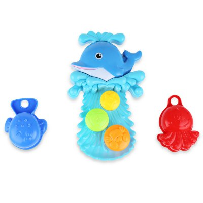 Baby Squirt Water Bath Toy SetOutdoor Fun &amp; Sports<br>Baby Squirt Water Bath Toy Set<br><br>Age Range: &gt; 1 year old<br>Material: Plastic<br>Type: Water Spraying Tool<br>Product weight: 0.189 kg<br>Package weight: 0.337 kg<br>Package Size(L x W x H): 21.00 x 7.00 x 26.00 cm / 8.27 x 2.76 x 10.24 inches<br>Package Contents: 1 x Bath Toy Set
