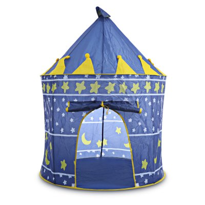 Kids Foldable Play House Portable Toy Tent Castle Cubby