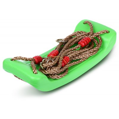 Indoor Outdoor Environmental Plastic Swing Rope Seat
