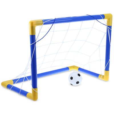 Mini Calcio Calcio Palo Set Net con pompa