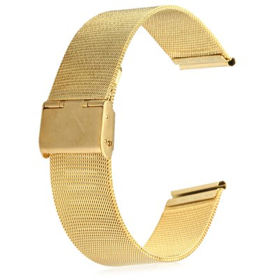 24mm Stainless Steel Mesh Watch Strap