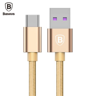 Baseus Speed QC Cable Type-C Data Transmission 5A Quick Charging Cord 1M
