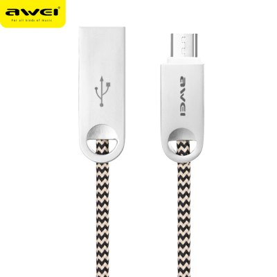 Awei CL - 30 5V 2.4A Micro USB Charge Data Transfer Cord 1M