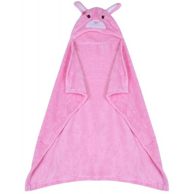 JUST TO YOU Cartoon Animal Child Cloak Hold Blanket Swaddling