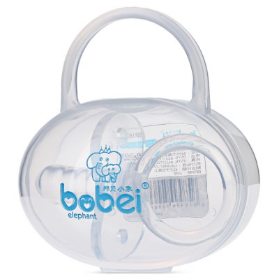 Bobeielephant Finger-shaped Silicone BPA Free Round Head Pacifier
