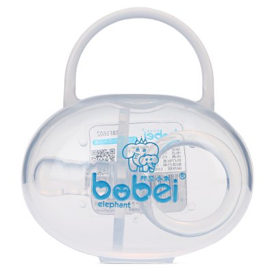 Bobeielephant Finger-shaped Silicone BPA Free Round Head PacifierFeeding<br>Bobeielephant Finger-shaped Silicone BPA Free Round Head Pacifier<br><br>Suitable Age: Above 0 month<br>Material Features: BPA Free<br>Shape/Pattern: Finger<br>Packaging: Single loaded<br>Material: Silicone<br>Product weight: 0.0110 kg<br>Package weight: 0.0540 kg<br>Product Size(L x W x H): 7.20 x 5.00 x 3.70 cm / 2.83 x 1.97 x 1.46 inches<br>Package Size ( L x W x H ): 8.30 x 5.50 x 9.20 cm / 3.27 x 2.17 x 3.62 inches<br>Package Contents: 1 x Round Head Pacifier