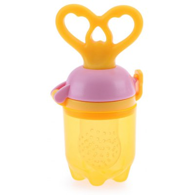 Safety PP Material Babies Food Chew Pacifier