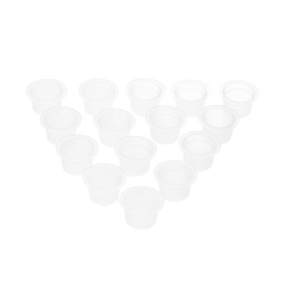 100pcs Small / Medium / Large Tattoo Ink Plastic Pigment Cups
