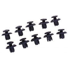 50pcs 1904 Universal Car Plastic Fender Fasterner Clips for Honda Accord Civic