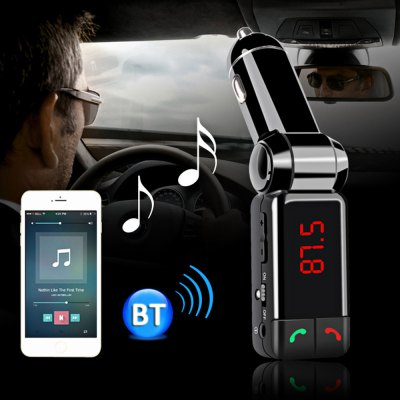 Bluetooth V2.0 Car Charger Wireless Stereo Handsfree MP3 Player
