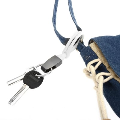 Practical Rubber Strap Keyring Outdoor Camping Cycling Hiking Household Gadget