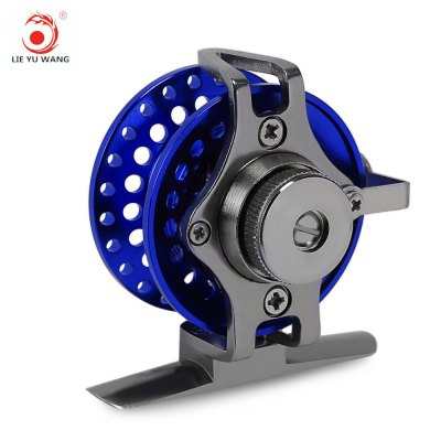LIE YU WANG 1:1 1 + 1BB Aluminum Alloy Fly Fish Wheel Reel