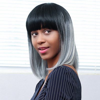 EMMOR Black Gray Bob Human Hair Wig with BangsHuman Hair Wigs<br>EMMOR Black Gray Bob Human Hair Wig with Bangs<br><br>Advantage: Top Quality<br>Bang Type: Full<br>Can Be Permed: Yes<br>Cap Construction: Capless<br>Cap Size: Adjustable<br>Gender: Female,Girl<br>Hair Density: 130 Heavy Density<br>Length: Medium<br>Length Size(CM): 38<br>Length Size(Inch): 14.96<br>Material: Human Hair<br>Net Type: Rose Net<br>Package Contents: 1 x Wig<br>Package size (L x W x H): 26.50 x 17.50 x 7.50 cm / 10.43 x 6.89 x 2.95 inches<br>Package weight: 0.2910 kg<br>Product weight: 0.1260 kg<br>Style: Straight<br>Type: Full Wigs