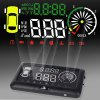 3 inch OBD II Car HUD Head Up Display Windscreen Projector with Speed Warning RPM MPH for sale
