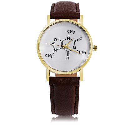 Women Quartz Watch Formula Pattern DialWomens Watches<br>Women Quartz Watch Formula Pattern Dial<br><br>Band Length: 7.09 inch<br>Band Material Type: Leather<br>Band Width: 20mm<br>Case material: Alloy<br>Case Shape: Round<br>Clasp type: Pin Buckle<br>Dial Diameter: 1.57 inch<br>Dial Display: Analog<br>Dial Window Material Type: Glass<br>Gender: Women<br>Movement: Quartz<br>Package Contents: 1 x Watch<br>Package Size(L x W x H): 24.50 x 6.50 x 1.00 cm / 9.65 x 2.56 x 0.39 inches<br>Package weight: 0.0480 kg<br>Product Size(L x W x H): 24.00 x 4.50 x 0.80 cm / 9.45 x 1.77 x 0.31 inches<br>Product weight: 0.0260 kg<br>Style: Fashion &amp; Casual