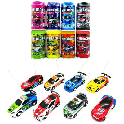1 : 63 Coke Can Mini RC Racing CarRC Cars<br>1 : 63 Coke Can Mini RC Racing Car<br><br>Age: Above 3 years old<br>Available Color: Multi-color<br>Package Contents: 1 x Coke Can Mini 1 : 63 Radio Remote Control Micro Racing Car Toy Vehicle Kid Gift, 1 x Remote Control, 1 x Road Blocks, 1 x Antenna, 1 x Bilingual User Manual in English and Chinese<br>Package size (L x W x H): 12.35 x 5.95 x 5.95 cm / 4.86 x 2.34 x 2.34 inches<br>Package weight: 0.1350 kg<br>Product weight: 0.0190 kg