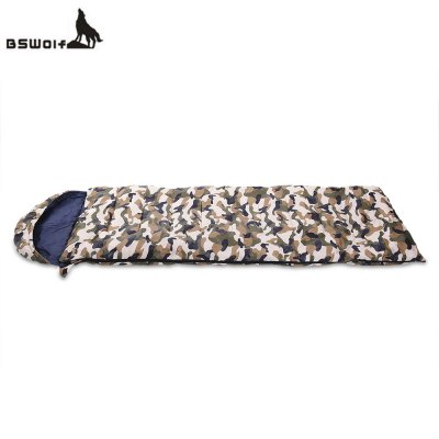 BSWOLF Foldable Splicing Camouflage Sleeping Bag