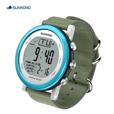 SUNROAD FR721 Fishing Digital Barometer Men Watch