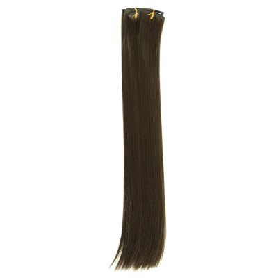 AISI HAIR 16 Clips Women Straight Long Hair ExtensionsHair Extensions<br>AISI HAIR 16 Clips Women Straight Long Hair Extensions<br><br>Bang Type: None<br>Gender: Female<br>Lace Wigs Type: None Lace Wigs<br>Length: Medium<br>Length Size(CM): 60<br>Length Size(Inch): 23.62<br>Material: Human Hair<br>Net Type: Half  Net<br>Package Contents: 1 x Hair Extensions<br>Package size (L x W x H): 30.00 x 5.50 x 5.50 cm / 11.81 x 2.17 x 2.17 inches<br>Package weight: 0.1700 kg<br>Product size (L x W x H): 60.00 x 5.00 x 5.00 cm / 23.62 x 1.97 x 1.97 inches<br>Product weight: 0.1400 kg<br>Style: Straight<br>Type: Half Wigs