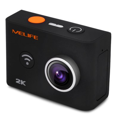 Melife 2K Wireless 1080P 30M Action Underwater Camera