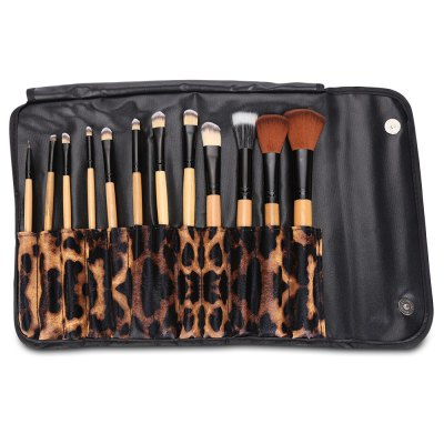 12pcs Cosmetic Powder BrushMakeup Brushes &amp; Tools<br>12pcs Cosmetic Powder Brush<br><br>Brush Material: Goat Hair, Horse Hair, Nylon<br>Handle Material: Plastic, Wood<br>Package Content: 12 x Makeup Brush<br>Package size (L x W x H): 23.50 x 9.00 x 3.50 cm / 9.25 x 3.54 x 1.38 inches<br>Package weight: 0.2150 kg<br>Product size (L x W x H): 23.00 x 8.50 x 3.00 cm / 9.06 x 3.35 x 1.18 inches<br>Product weight: 0.1900 kg<br>Used With: Sets / Kits