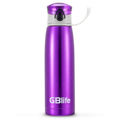 GBlife 530ml Insulated Stainless Steel Vacuum Cup