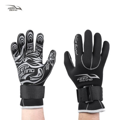 KEEPDIVING DG - 202 Paired Water Resistant Gloves