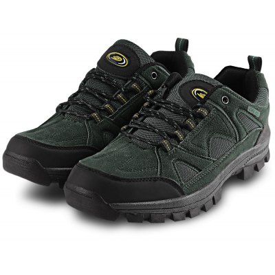 Outdoor Lace Up Skip Resistance Climbing Casual Shoes