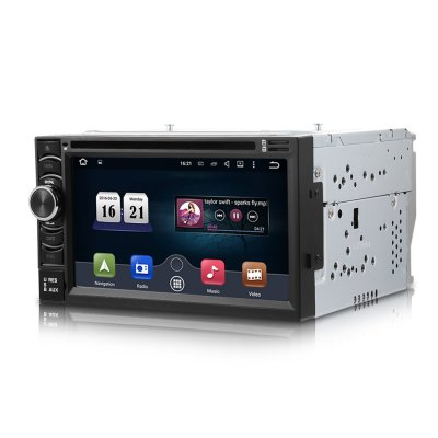 6116G Wince 6.0 Car DVD Player 6.5 inch Double Din