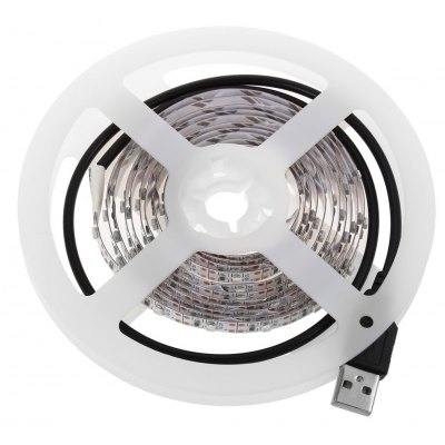 5V 2M LED Strip Tape Lamp with USB Cable