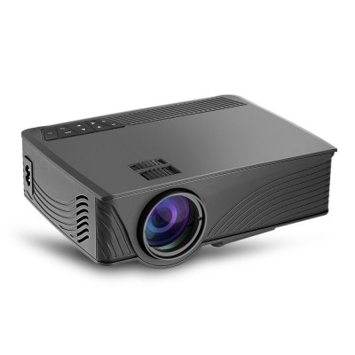 GP - 12 LED ProjectorProjectors<br>GP - 12 LED Projector<br><br>3D: Yes<br>Aspect ratio: 16:9<br>Audio Formats: MP3,  WAV<br>Bluetooth: Unsupport<br>Brightness: 2000LM<br>Built-in Speaker: Yes<br>Compatible with: Sony PS4, Xbox<br>Contrast Ratio: 800:1<br>DVB-T Supported: No<br>External Subtitle Supported: No<br>Image Scale: 16:9,4:3<br>Image Size: 32 - 120 inch<br>Interface: USB, SD Card Slot, DC, 3.5mm Audio, HDMI<br>Lamp: LED<br>Lamp Life: 20000 hours<br>Lamp Power: 24W<br>Native Resolution: 800 x 480<br>Noise (dB): 35<br>Package Contents: 1 x GP - 12 LED Projector, 1 x Remote Controller, 1 x Power Cable, 1 x AV Cable, 1 x English User Manual<br>Package size (L x W x H): 25.20 x 24.50 x 11.70 cm / 9.92 x 9.65 x 4.61 inches<br>Package weight: 1.6500 kg<br>Picture Formats: GIF, PNG,  JPEG,  JPG<br>Power Supply: 110 - 240V<br>Product size (L x W x H): 20.90 x 15.90 x 7.90 cm / 8.23 x 6.26 x 3.11 inches<br>Product weight: 0.9440 kg<br>Projection Distance: 1 - 3 m<br>Resolution Support: 1920 x 1080<br>Throw Ration: 1.32:1<br>Tripod Height: not included<br>Video Formats: RMVB,  FLV,  WMV,  MP4,  AVI