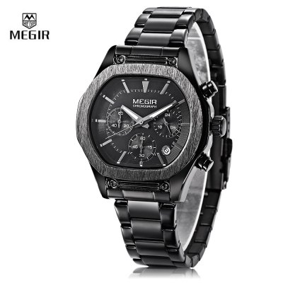 MEGIR M3014G Male Quartz Chronograph Watch