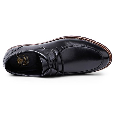DESAI Business Round Toe Lace Up Leather Shoes for MenFormal Shoes<br>DESAI Business Round Toe Lace Up Leather Shoes for Men<br><br>Available Size: 40, 40.5, 41, 41.5, 42, 44<br>Closure Type: Lace-Up<br>Embellishment: None<br>Gender: For Men<br>Lining Material: Pigskin<br>Occasion: Casual<br>Outsole Material: Rubber<br>Package Contents: 1 x Pair of Shoes<br>Pattern Type: Solid<br>Season: Spring/Fall, Summer, Winter<br>Toe Shape: Round Toe<br>Toe Style: Closed Toe<br>Upper Material: Genuine Leather<br>Weight: 0.7300kg