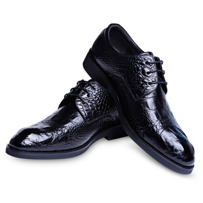 DESAI Crocodile Pattern Gradient Color Leather Male ShoesFormal Shoes<br>DESAI Crocodile Pattern Gradient Color Leather Male Shoes<br><br>Available Size: 40, 40.5, 41, 41.5, 42, 44<br>Closure Type: Lace-Up<br>Embellishment: None<br>Gender: For Men<br>Lining Material: Pigskin<br>Occasion: Casual<br>Outsole Material: Rubber<br>Package Contents: 1 x Pair of Men Leather Shoes<br>Pattern Type: Solid<br>Season: Spring/Fall, Summer, Winter<br>Toe Shape: Pointed Toe<br>Toe Style: Closed Toe<br>Upper Material: Genuine Leather<br>Weight: 1.5360kg