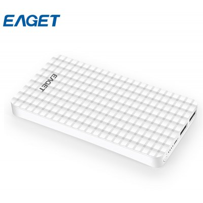EAGET C6 10000mAh Dual USB Output Power Bank