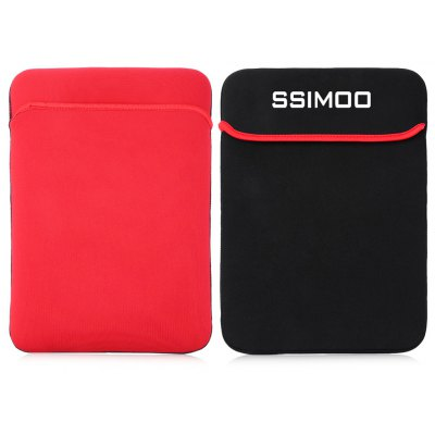 SSIMOO Double-faced Foam Fabric Laptop Bag 15.6 inch